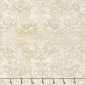 "Winter Village - Winter Lace White Paper 108"" Wide Backing"
