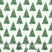 Christmas Traditions - Trees Cream Yardage