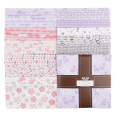 Cozy Cotton Flannels - Pink Ten Squares