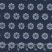 Something Borrowed - Circles Navy Yardage