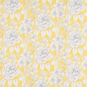 Marguerite - Large Floral Goldenrod Yardage
