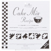 Cake Mix Recipe 2 by Miss Rosie's Quilt Co