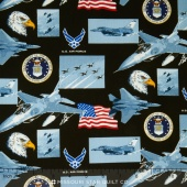 Military - Air Force Allover Yardage