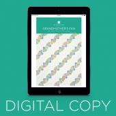 Digital Download - Grandmother's Fan Quilt Pattern by Missouri Star