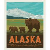 Destinations - Alaska Wild and Wonder Multi Digitally Printed Panel