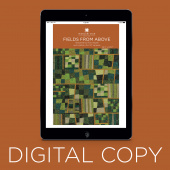 Digital Download - Fields from Above Quilt Pattern by Missouri Star