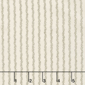 Flower Garden Gatherings Backgrounds - Trellis Vine Tallow Yardage