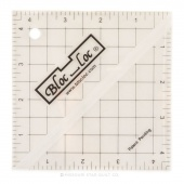 "Bloc Loc 4 1/2"" Square Up Ruler"