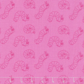 The Very Hungry Caterpillar - 50th Anniversary Edition Caterpillar Pink Yardage