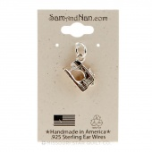 Modern Sewing Machine Charm