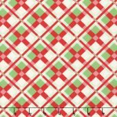 Swell Christmas - Plaid Red Green Yardage