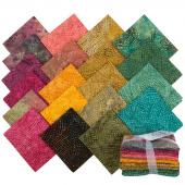 Tonga Treats Batiks - Colorwheel Forest Fat Quarter Bundle