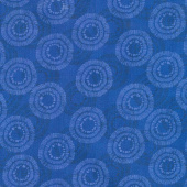 Wilmington Essentials - Circle Burst Dark Royal Yardage