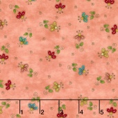 No Fowl Play - Flower Toss Tan Yardage