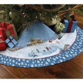 Winter's Eve Tree Skirt Kit