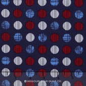 Patriotic Pride - Dot Navy Yardage