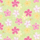 Mama Lal - Susybee Floral Kiwi Yardage
