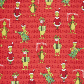 How the Grinch Stole Christmas - Grinch Red Yardage
