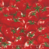 Novelty - Tomatoes Red Yardage