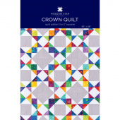 Crown Quilt Pattern by MSQC