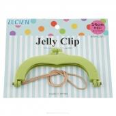"JELLY CLIP 5.5"" GREEN"