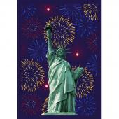 Lady Liberty - Multi Digitally Printed Panel