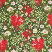 Naughty or Nice - Christmastide Winter Spruce Yardage