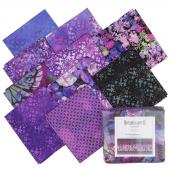 Dreamscapes II Purple Digitally Printed Fat Quarter Bundle