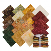 Tonga Treats Batiks - Nutmeg Fat Quarter Bundle