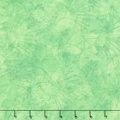 Shimmer Koi Pond - Spirograph Green Yardage