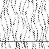 Kinfolk - Wavy Stripe White Yardage