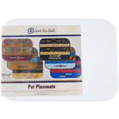 Pet Place Mats with Embroidery CD