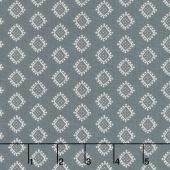 Rosette - Bijoux Charcoal Yardage