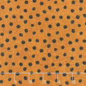 Raven's Claw - Dotty Dark Orange Yardage