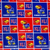 College - University of Kansas Allover Yardage