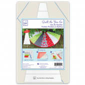 Tree Skirt Quilt As You Go Preprinted Batting