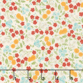 Cultivate Kindness - Flower Field Vintage Tan Yardage