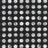 Gradients 2 - Onyx Dots Digitally Printed Yardage