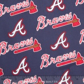 MLB Major League Baseball - Atlanta Braves Allover Yardage