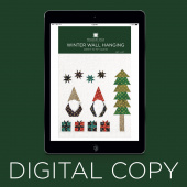 Digital Download - Winter Wall Hanging Pattern by Missouri Star
