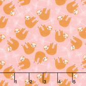 Under the Canopy - Sloth Pink Yardage
