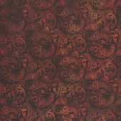 Seasons - Paisley Spice Digitally Printed Yardage