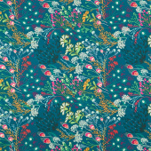 Legendary - Meadow Bold Dark Teal Yardage