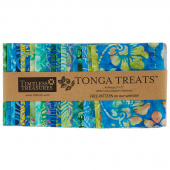 Tonga Treats Batiks - Grasshopper Minis