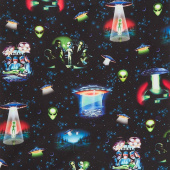 Area 51 - Alien Space Eerie Yardage