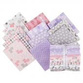 Cozy Cotton Flannels - Pink Fat Quarter Bundle