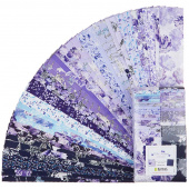 Violet Twilight Pearlized Strip-pies