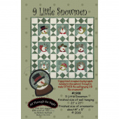 9 Little Snowmen Pattern