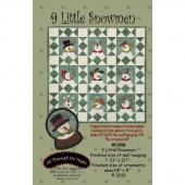 9 Little Snowmen Pattern