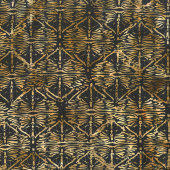 Gatsby Batiks - Dragonfly Square Wheat Yardage